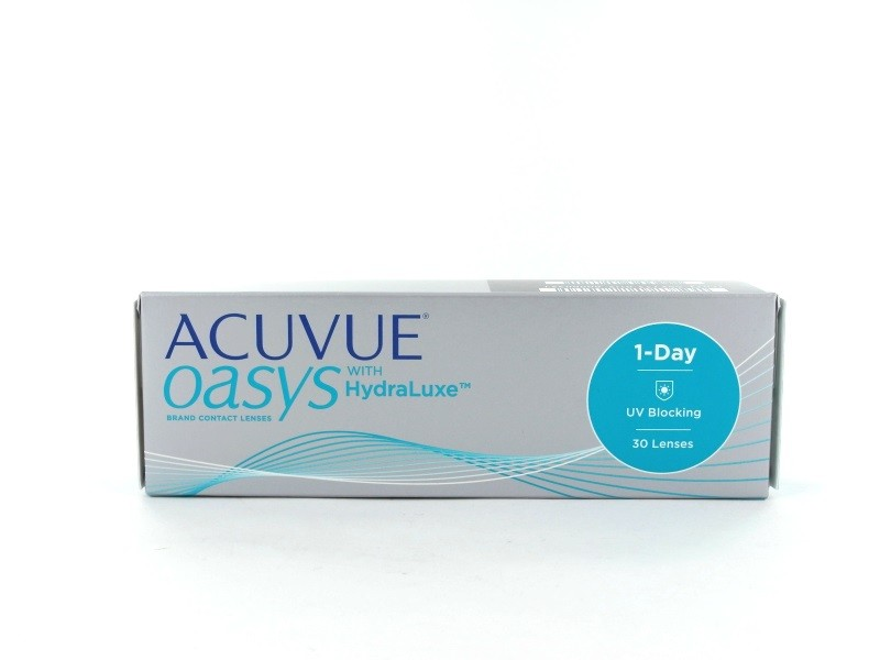 Acuvue Oasys 1 Day with HydraLuxe, 30er Box