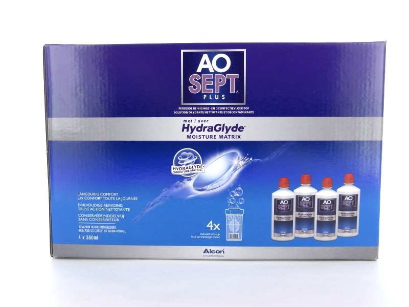 AO SEPT PLUS® mit HydraGlyde® 4x 360ml