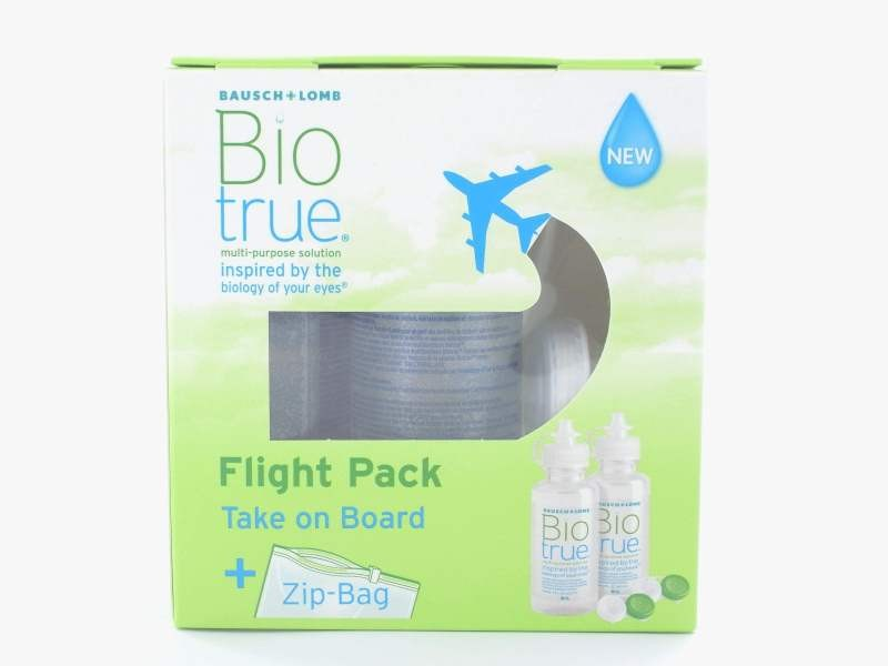 BioTrue Flight Pack (2x60ml)