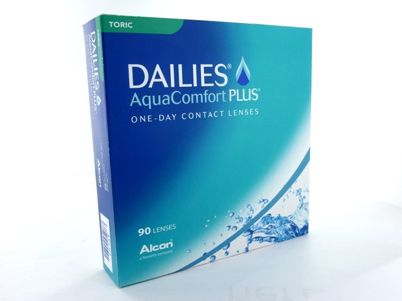 Dailies Aqua Comfort Plus Toric, 90er Box