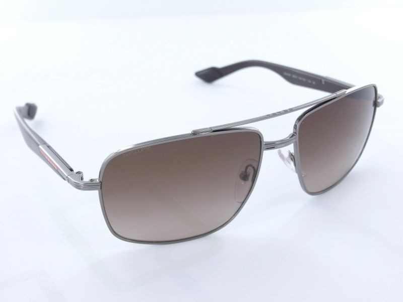 Prada - PS 51MS 5AV6S1 - Gunmetal/Brown
