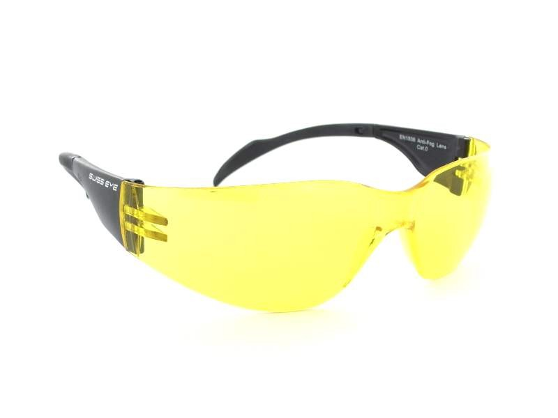 Swiss Eye - EN1836 - 14004 - 0 - Matt Black/Yellow Glasses