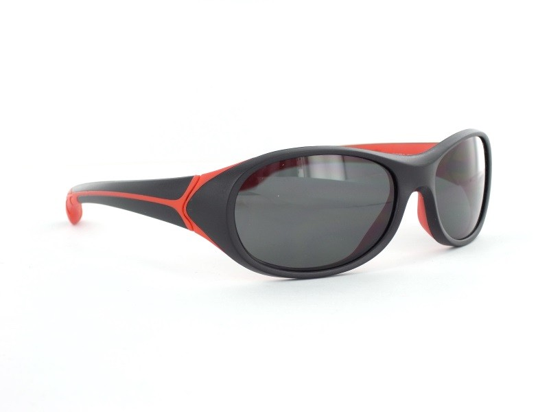 Cébé Kinder Sonnenbrille Simba, Black/Red/Grey, CBSIMB8