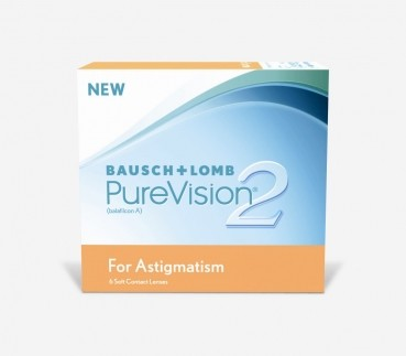 Pure Vision®2  for Astigmatism, 6er Box