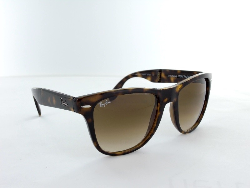 Ray Ban  RB4105 -Folding Wayfarer- 710/51-54