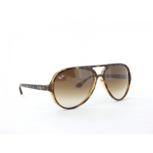 Ray Ban - RB4125 710/51 Gr. 59 - Light Havana/Crystal Brown Gradient
