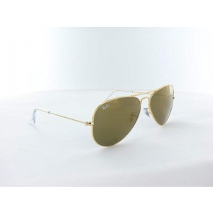 Ray Ban - RB3025 - W3276 - 58 - Gold Crystal Gold Mirror