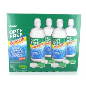 OPTI-FREE RepleniSH, 4x 300ml